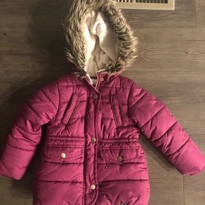 Toddler winter jacket